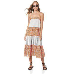 TIGERLILY Alamea Tiered Midi Dress NWT RRP$249